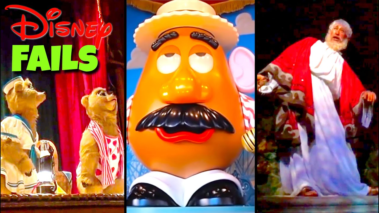 Download Top 10 Disney Fails, Bloopers & Animatronic Malfunctions Pt 8