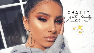 GET READY WITH ME! CHATTY EDITION (FALL MAKEUP 2018)