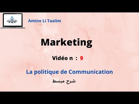 La Politique De Communication : ( Darija )