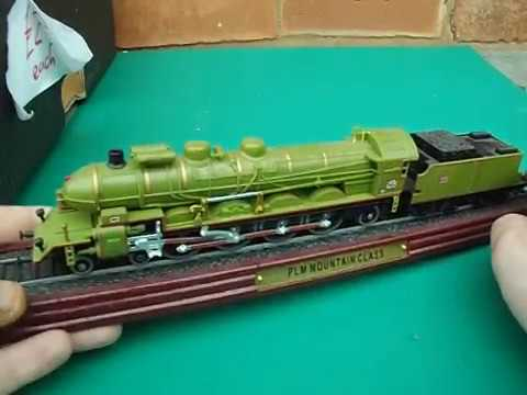 atlas editions large locomotives train models plm mountain class reading camelback