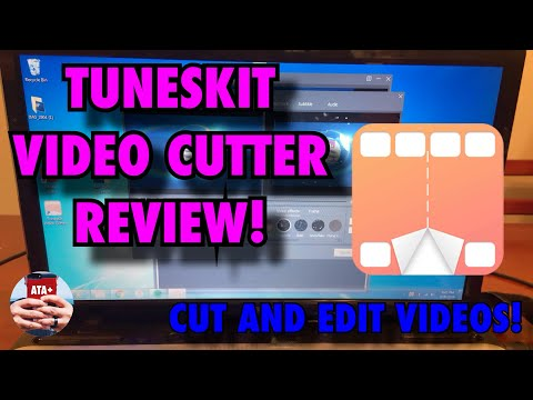 TUNESKIT VIDEO CUTTER REVIEW AND HOW TO!  CUT AND EDIT YOUR VIDEOS!