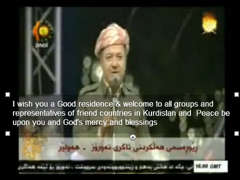 Translation of Kurdistan president Massoud Barzani's at Newroz 2013 speech
