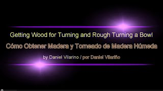 Obtaining Wood And Rough Turning Con Subtítulos En Español