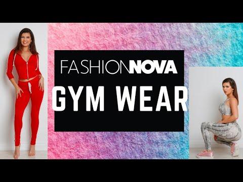 Fashion Nova Gym Wear| Try On Haul!