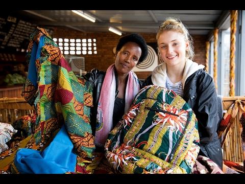 Sophie Turner visits Rwanda with Women for Women International
