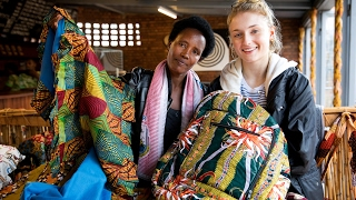 Sophie Turner visits Rwanda with Women for Women International