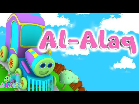 Animation 3D Juz Amma Al Alaq | Recite Quran with Battar | ABATA Channel