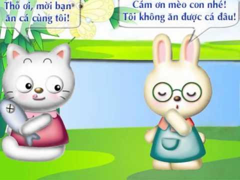 Thỏ con ăn gì - Creat by Đinh Nhung
