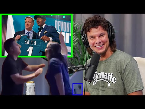 Enraged Giants Fan Reacts to Eagles NFL Draft Pick