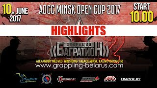ADCC MINSK OPEN CUP 2017 HIGHLIGHTS/BEST SUBMISSIONS/GRAPPLING