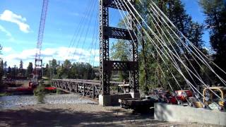 Winthrop Wa Spring Creek Bridge Construction