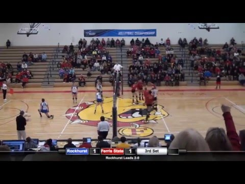 Dec. 5, 2015 - Ferris State Volleyball NCAA Regional Final Highlights