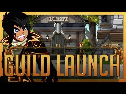 =AQW= Guild Launch (Walthrough W/ Commentary!)
