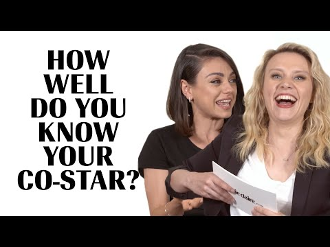 Kate McKinnon Literally Fights Mila Kunis To Avoid Embarrassment  How Well Do You Know Your CoStar