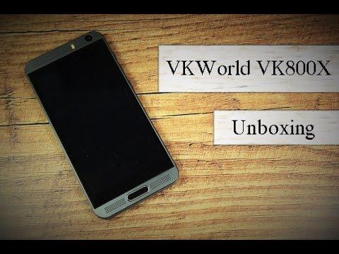 50€ China Phone : VKWorld VK800X Unboxing - Deutsch