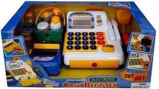 Игрушка КАССА для детей. Игра в магазин. Игрушки детям