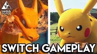 EPIC Pokemon Battles on Switch! (Pokken Tournament DX Demo Gameplay)