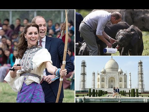 Best moments of the Duke and Duchess of Cambridge's tour of India and Bhutan