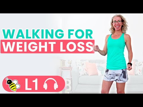 WALKING for Weight Loss, 15 minute INDOOR WALK workout with Pahla B