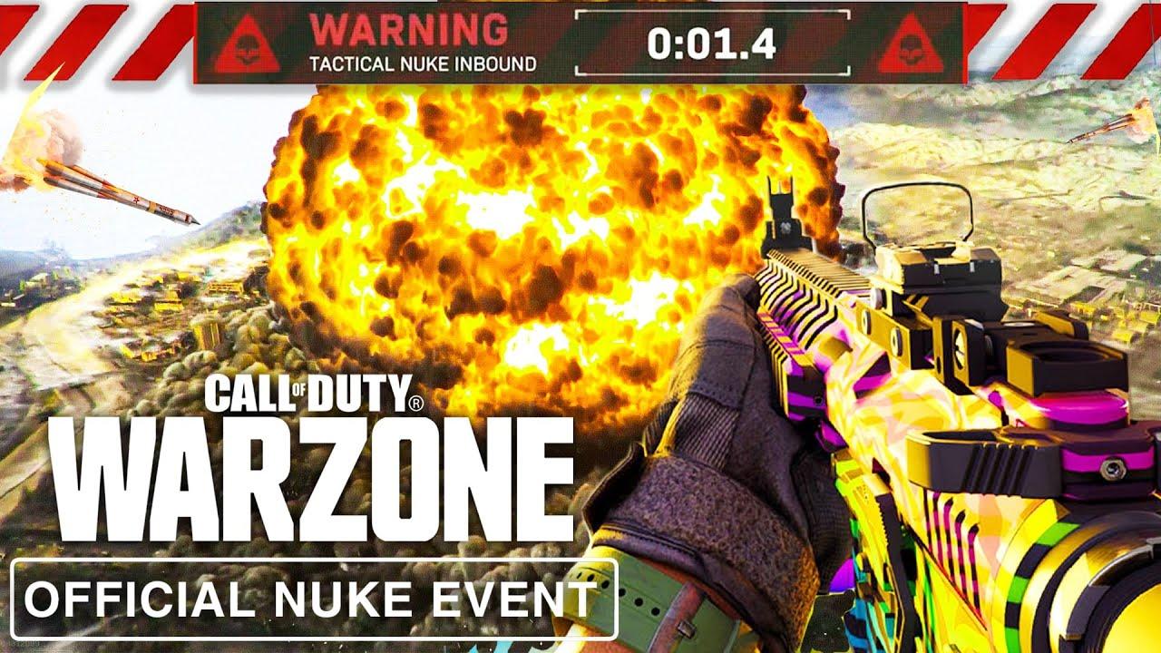 OFFICIAL WARZONE NUKE EVENT LIVE! (Warzone Live Event PART 1)
