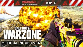 OFFICIAL WARZONE NUKE EVENT LIVE! (Warzone Live Event NEW MAP Reveal)