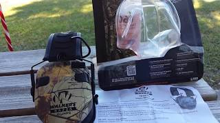 walker razor slim shooter quad electronic muffs