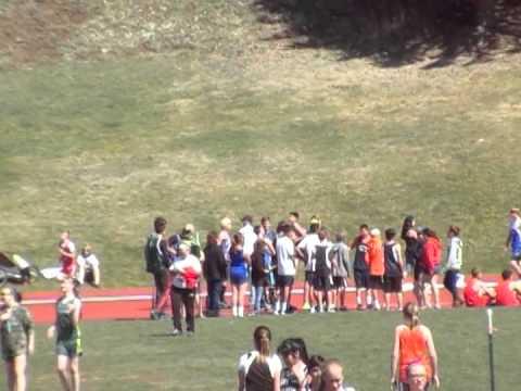 CW First 1600M Race - Gunnison Middle School Meet