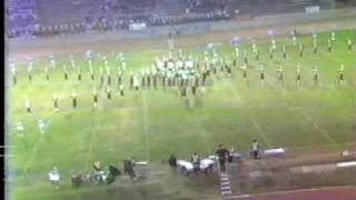 Arcadia H.S. Marching Band @ 1987 Azusa Field Tournament Pt.1