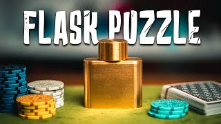 Solving The WHISKEY FLASK Puzzle!!