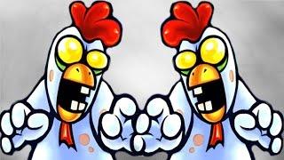 Plants vs. Zombies 2 - Chicken Zombie Week #1, Pinata!