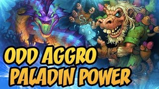 Odd Aggro Paladin Power | The Witchwood | Hearthstone