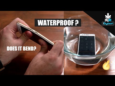Lenovo K8 Note , Does it Bend ? Is it WaterProof ?