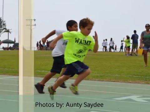 Waimea Elementary School 1-29-2016 track meet