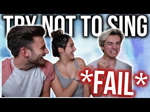 TRY NOT TO SING ALONG!! (IMPOSSIBLE) WITH SAM PATTERSON & DAVID COSLETT