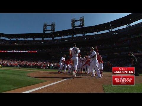 TOR@STL: Carpenter wins it with a walk-off grand slam