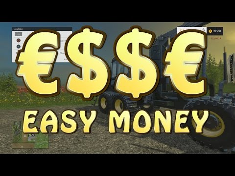 How To Earn Quick Money In Farming Simulator 2015 | Bjornholm | PS4