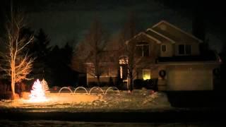 Beautiful People Cosmic Dawn - Wesley Family Christmas Display 2013