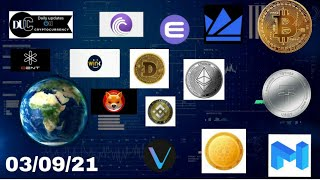 Cryptocurrency news update 03.09.21