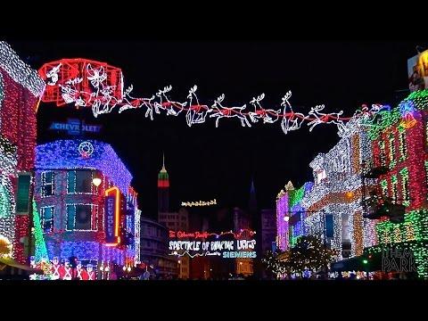 Disney's Hollywood Studios 2014 Christmas and Holiday Decorations at Walt Disney World