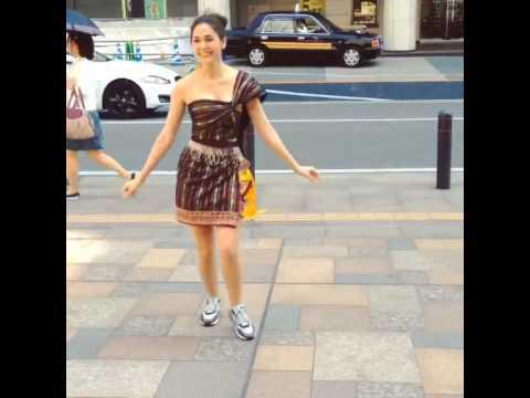 Chomismaterialgirl : ผู้หญิงลั่นล้า In Japan (Kolkimono)