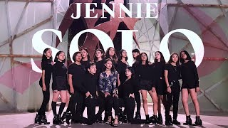 [KPOP IN PUBLIC CHALLENGE] JENNIE - 'SOLO' Dance Cover By 8 Hours MEXICO