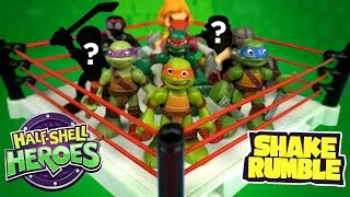 Ninja Turtles 2 Toys Shake Rumble TMNT Out of the Shadows with Casey Jones by KidCity