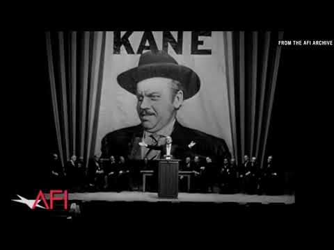 Filmmakers on why CITIZEN KANE is the greatest film of all time - AFI Movie Club