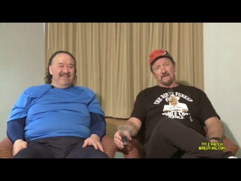 Terry Funk & Raging Bull Shoot Interview (Full DVD)