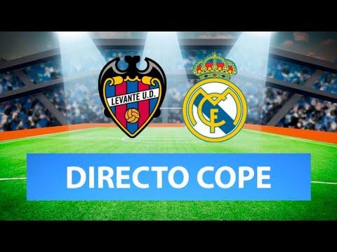 (SOLO AUDIO) Directo del Levante 3-3 Real Madrid en Tiempo de Juego COPE