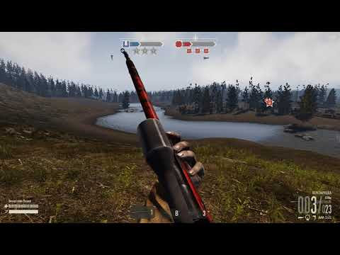 Heroes &  Generals разведчик с винтовкой мосина