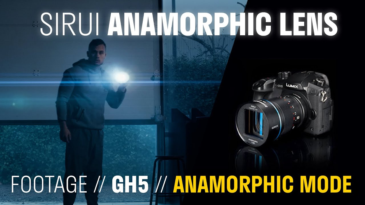 ANAMORPHIC LENS FOR CINEMATIC VIDEO - Sirui 35mm Anamorphic Lens on GH5