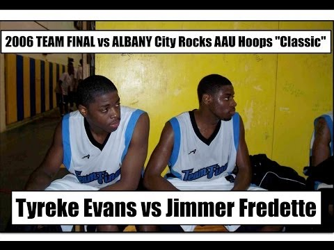 2006 TEAM FINAL vs ALBANY City Rocks AAU (Jimmer Fredette/Mark Lyons/Talor Battle/Tyreke Evans)