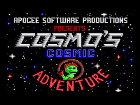 Cosmo's Cosmic Adventure 1 - Level 1 (1992) [MS-DOS]