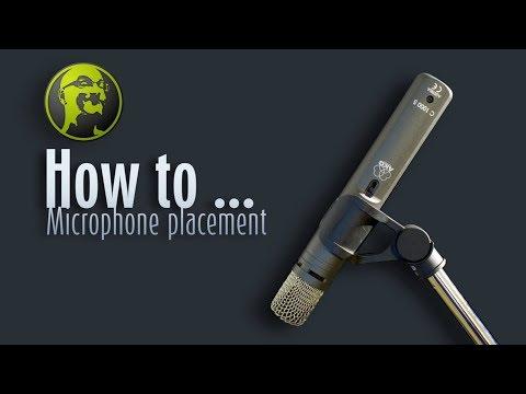 GearGossip Mic Placement on Speakers